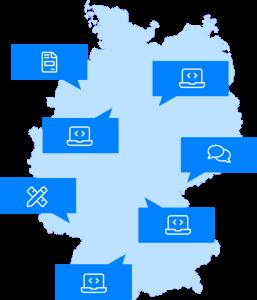 Karte-Deutschland-Mindi-Lab-Team